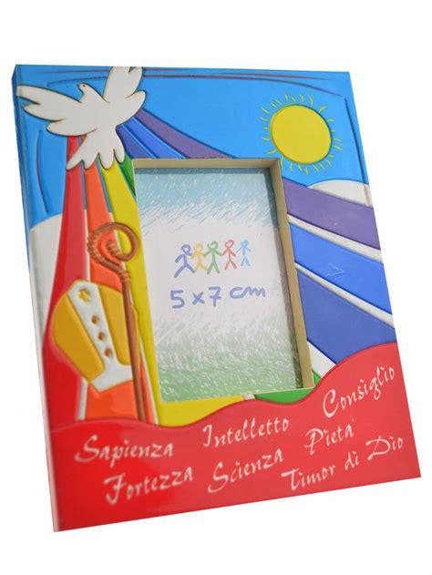 www libreria santo it cornice portafoto ricordo della cresima in polimero
