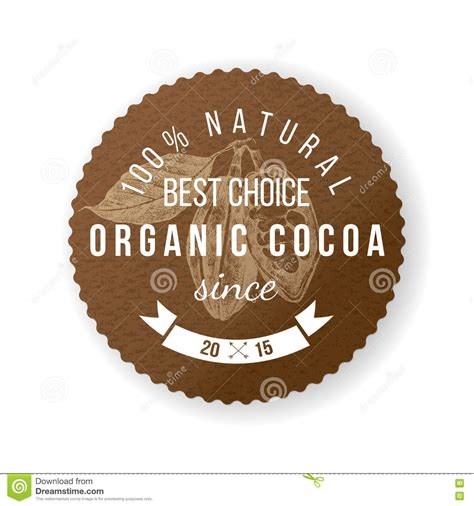 Look What I Found Cocoa Chic by Vintage Cocoa Label Vector Illustration Cartoondealer