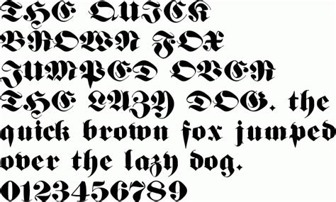 deutsch gothic font download free preview font deutsch gothic german text font