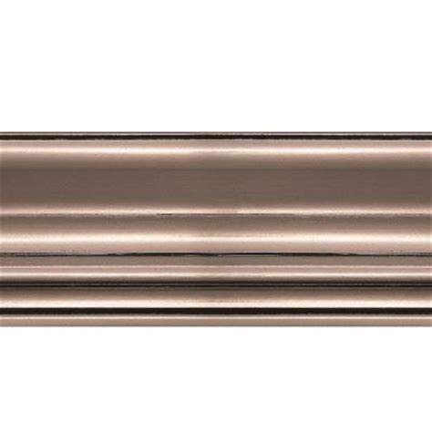 home depot ceiling molding fasade 1 063 in x 6 in x 96 in wood brushed nickel