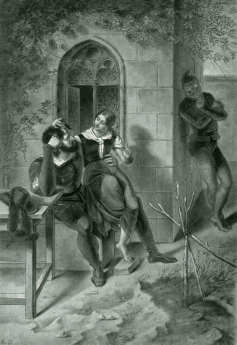 marthens garten das goethezeitportal paul mila faust illustrationen