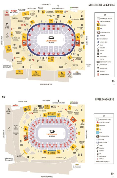 In Law Suites Floor Plans by Little Caesars Arena Olympia Entertainment