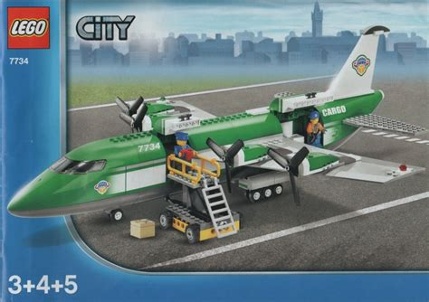 lego airport tutorial 7734 1 cargo plane brickset lego set guide and database