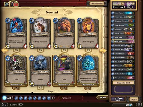 hearthstone basic decks how to build a solid hearthstone deck