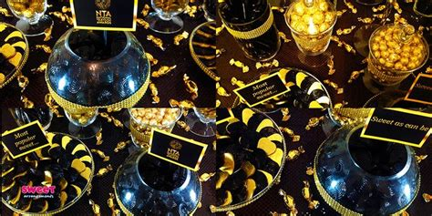 black and gold buffet ls black and gold coloured candy buffet black gold