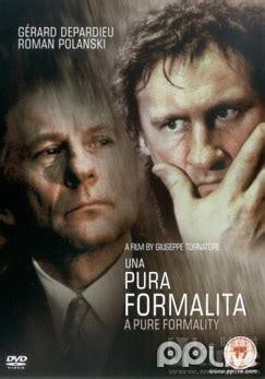gerard depardieu una pura formalità a film quot una pura formalit 224 a pure formality quot g 233 rard