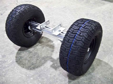 boat trailer nose wheel castlecraft trailex universal beach launching dolly for