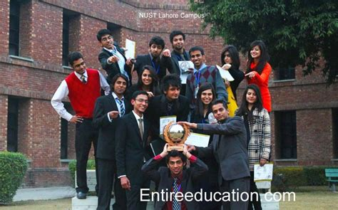 Nust Business School Mba by Nust Lahore Admissions 2018 For Bs Ms Programs Last