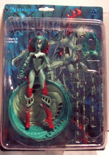 7 inch figure accessories webwitch green variant avatar press 7 inch rendition