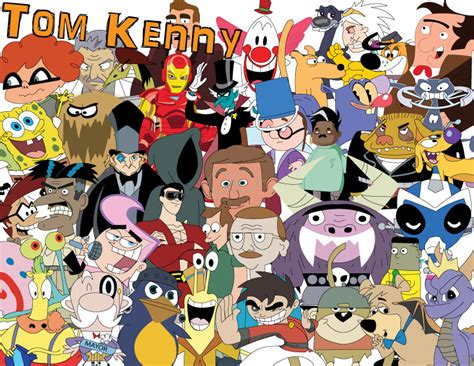 behind the voice actors tom kenny tom kenny life with spongebob and other talking animals