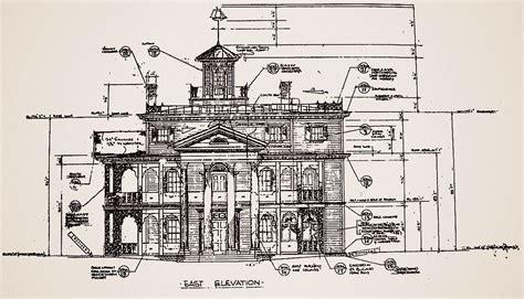mansion blueprints blueprints for the haunted mansion at disneyland