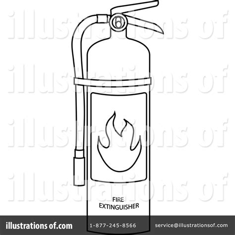 fire extinguisher clipart 73932 illustration by pams