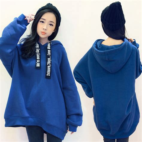 Sweater Hoodie Jumper Band Blur blue hoodie sweater baggage clothing