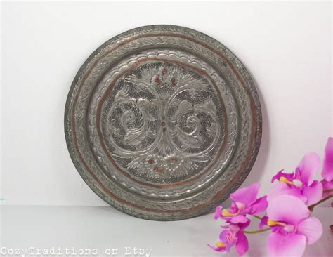Decorative Hanging Plates by Decorative Wall Plate Wall Hanging By Cozytraditions On Etsy