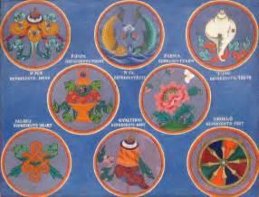 Tibetan Wealth Vase Mind Body Spirit Odyssey The Eight Auspicious Symbols