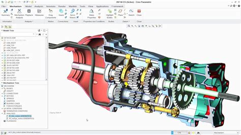 Workshop Designs by Mechanisms With Ptc Creo Ptc Creo Showcase Youtube