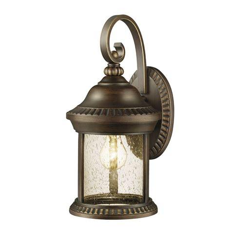 Hton Bay Cambridge Collection 1 Light Essex Bronze Hton Bay Outdoor Lights