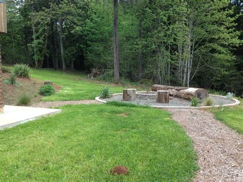 portland sand and gravel for a modern landscape with a