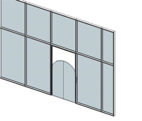 curtain wall door revitcity com arched storefront doors