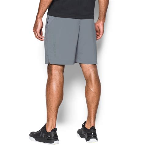 Original Armour Hiit Woven Combat Green armour s ua hiit woven shorts in green for lyst