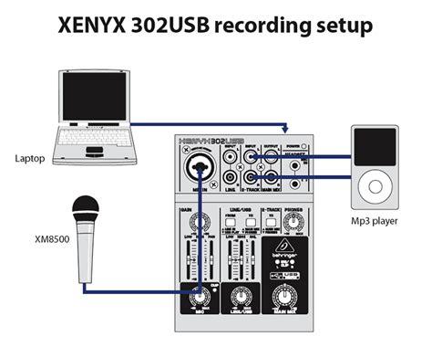 Mixer Xenyx 302 behringer xenyx 302usb sound 7