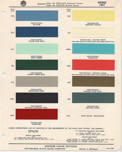 dodge paint colors autos post