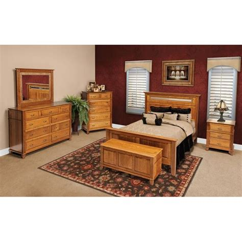 arlington collection bedroom set amish crafted furniture