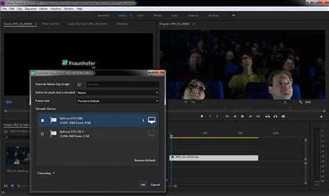Adobe Premiere Pro X265 | import convert exporting