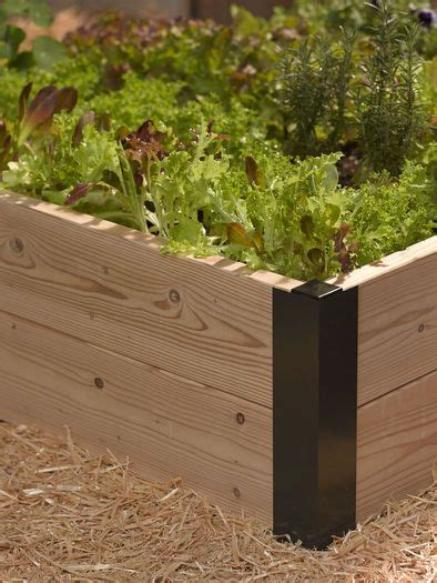 raised garden corner brackets 124 best images about raised beds corners and accessories