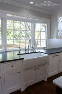 kitchen bay window ideas farmhouse style kitchen big sinks country kitchens white