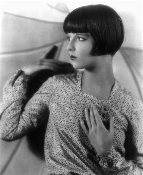 med way bob haircut louise brooks late 1920s photograph by everett