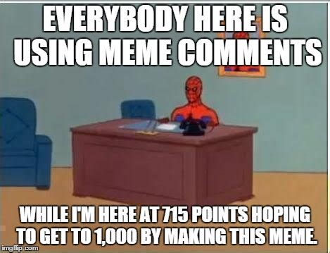 Spiderman Computer Meme - spiderman computer desk meme imgflip