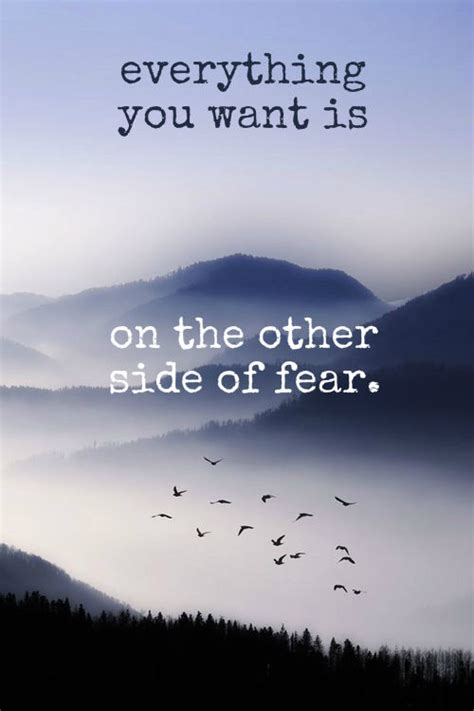 The Other Side Of Fear everything you want is on the other side of fear pictures