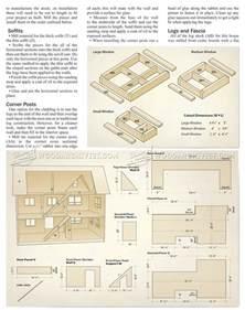 Free House Plan Doll House Plans Woodarchivist