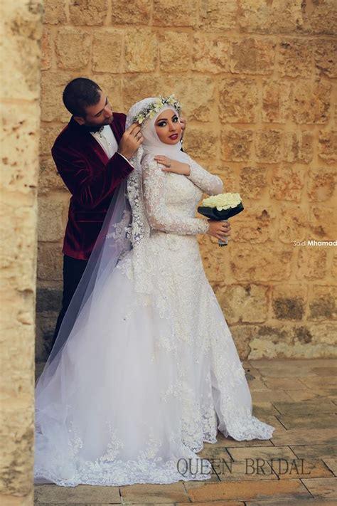 Wedding Muslim Modern by Islamic Modern Styles For Wedding Dress Hijabiworld