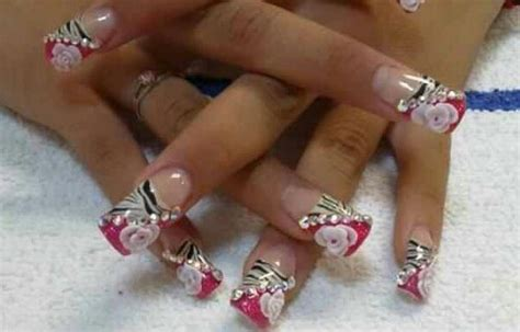 imagenes de uñas acrilicas nuevas dise 241 os de u 241 as acr 237 licas decoradas im 225 genes