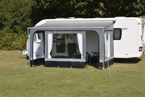 caravan rollout awnings ka revo zip roll out awning privacy room 310 caravan