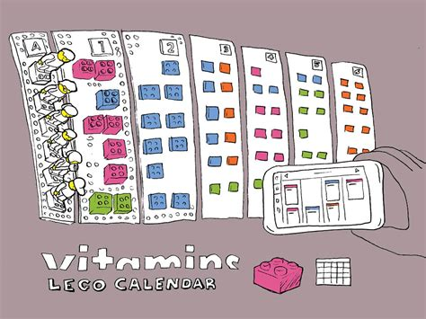 vitamin design lego calendar sxsw 2014 ross atkin associates