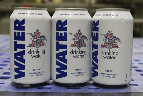 anheuser busch halts beer production to provide water for