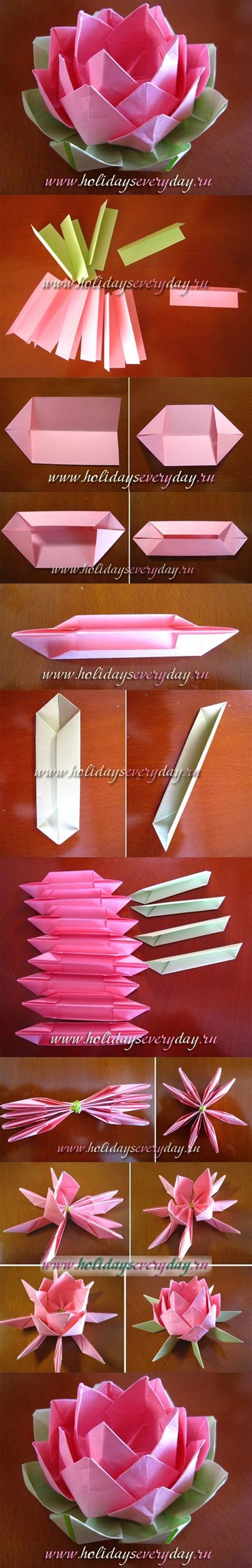 Paper Folding Lotus - sparkle 36 how to make origami flowers pumpernickel pixie