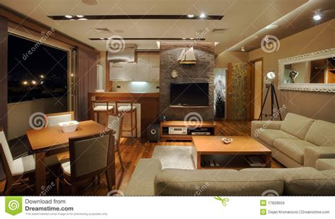 wohnung innen apartment interior royalty free stock images image 17828659