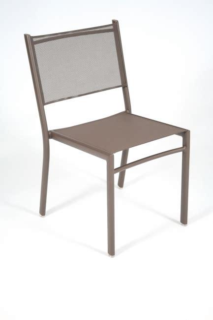 chaise salon de jardin chaises de jardin costa fermob chaise repas en aluminium