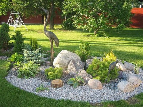 small backyard rock gardens 25 best ideas about rock garden design on pinterest