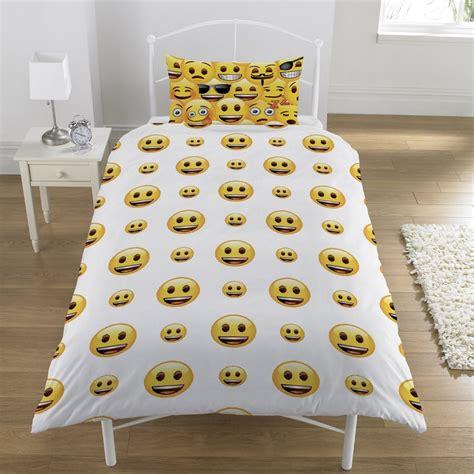 emoji quilt cover emoji single duvet quilt cover bedding set boys girls kids