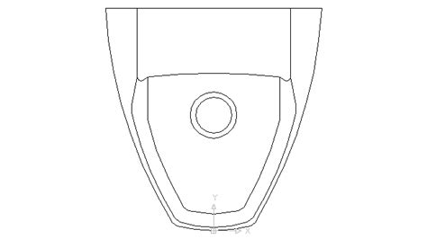 Autocad Drawing Urinal Public Toilet Wc White Top View Dwg Toilet Template Autocad