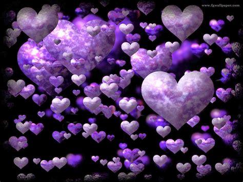 imagenes de corazones morados con movimiento descargar gratis fondos de pantalla corazones morados
