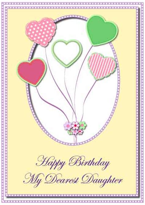printable birthday cards for daughter 7 best images of printable birthday cards daughter free