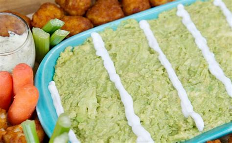 Football Food Easy Chicken Guac Appetizer