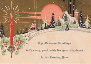 vintage postcard greetings bay s