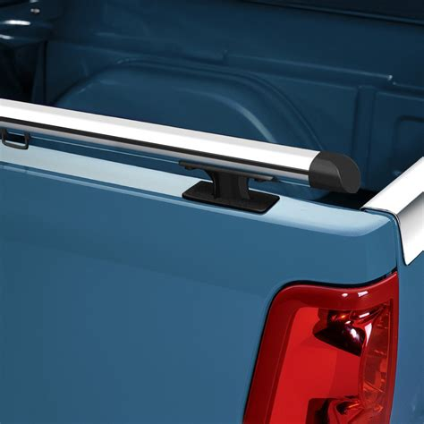 truck bed rails luverne 174 chevy silverado 2001 2009 aluminium oval bed rails